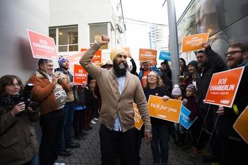 Singh refuse de dire s'il ferait tomber un gouvernement conservateur