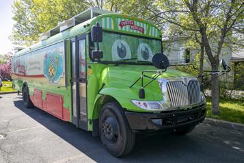 Un autobus-théâtre pour les petits)