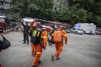 Chine Seize morts dans une mine après une fuite de gaz)
