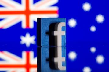 Facebook rétablit l'accès aux contenus d'actualité pour les Australiens)