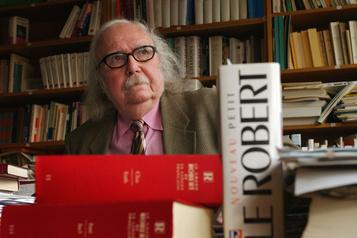 Décès d'Alain Rey, roi des dictionnaires Le Robert)