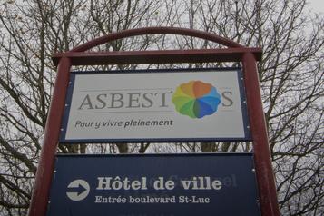 La liste des noms potentiels pour Asbestos dévoilée lundi)