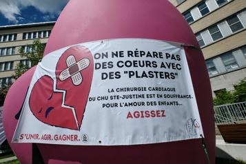 CHU Sainte-Justine Un syndicat craint des «bris de service» à la chirurgie cardiaque)