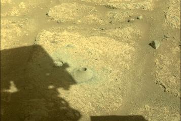 La NASA a bon espoir que Perseverance ait réussi a prélever de la roche martienne)