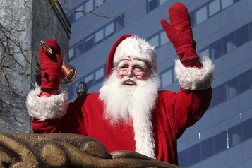 Le défilé du père Noël annulé à Montréal)