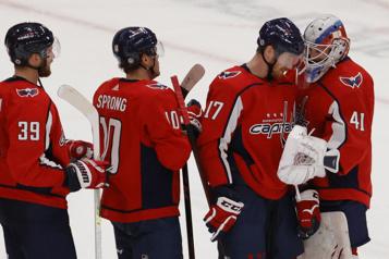 Victoire in extremis des Capitals face aux Bruins)