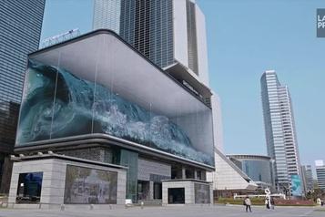 Un raz-de-marée virtuel à Séoul)