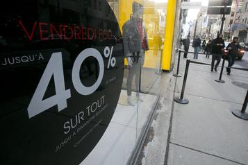 Le Vendredi fou attire moins de consommateurs)