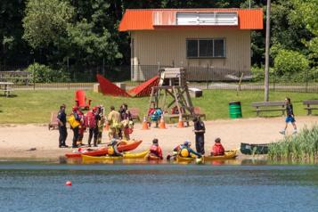 Sainte-Foy Un garçon de 10ans se noie dans un lac)
