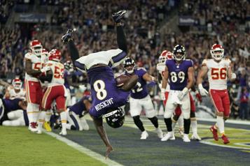 Deuxième semaine dans la NFL Les Ravens en avaient grandement besoin)