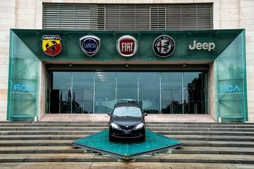 Fiat Chrysler accuse GM de vouloir «perturber» ses fiançailles avec PSA