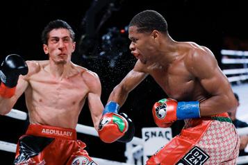 Devin Haney conserve sa ceinture WBC des poids légers
