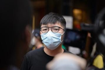 Hong Kong Le militant pro-démocratie Joshua Wong va plaider coupable)