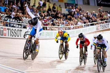 Cyclisme: Lauriane Genest obtient l'argent au keirin à Cambridge
