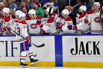 Une autre victoire du Canadien face aux Blues