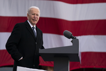 Biden prend dès mercredi 17 actions pour effacer le bilan de Trump)