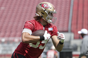 49ers: George Kittle absent face aux Jets dimanche)