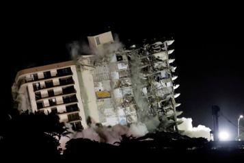 Bilan final à 98morts La dernière victime de l'effondrement de Surfside identifiée)