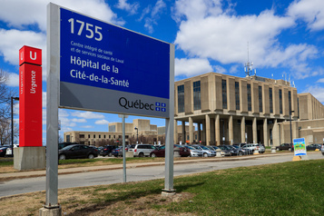 Cité de la santé: trois employés blessés à l'unité de psychiatrie