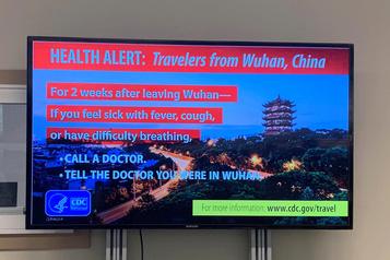 Virus chinois: 2ecas confirmé aux États-Unis, 50patients en observation