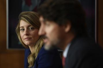 Congrès libéral Mélanie Joly nommée coprésidente de la prochaine campagne)