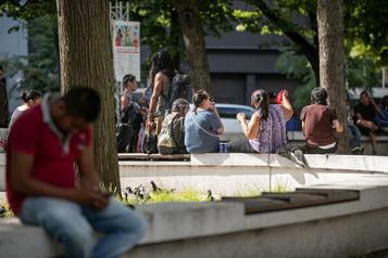 «Crise» au square Cabot après la fermeture d'un refuge