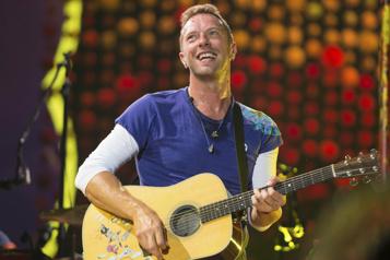 Une tournée verte pour Coldplay