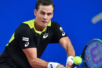 Vasek Pospisil s'incline en finale à Montpellier