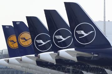 Lufthansa va mettre 31000salariés en chômage partiel