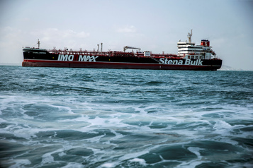 Iran: le pétrolier suédois battant pavillon britannique «libre de ses mouvements»