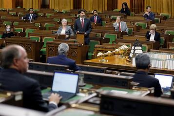 Chambre des communes Le premier vote électronique victime de problèmes techniques)