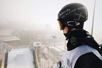 Ski acrobatique «C'est une journée très spéciale!», dit Édouard Therriault)