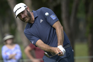 Dustin Johnson se retire du tournoi Byron Nelson)