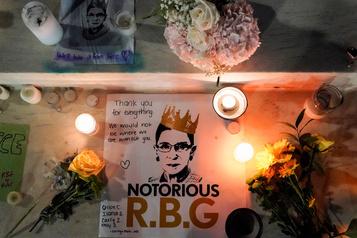 Qui pour remplacer «RBG» à la Cour suprême américaine?)