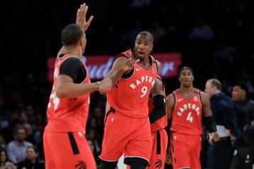 Sixième victoire de suite pour les Raptors