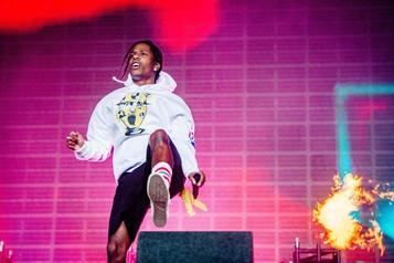 A$AP Rocky de retour sur scène après sa condamnation