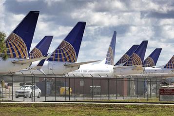 United Airlines pourrait licencier jusqu'à 36000 salariés)