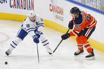 Les Maple Leafs blanchissent les Oilers4-0)