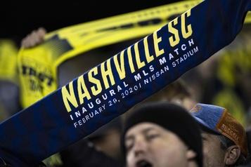 MLS: quatre nouveaux joueurs de Nashville déclarés positifs à la COVID-19)