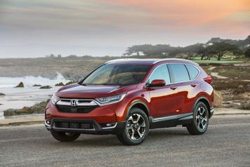 Problème de coussins gonflables: Honda rappelle près de 18000 CR-V
