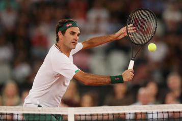Roger Federer s'apprête à faire son retour sur terre battue)