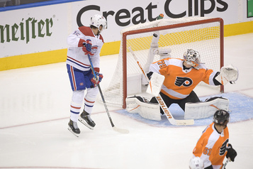 Canadien 5 — Flyers 0 (pointage final))