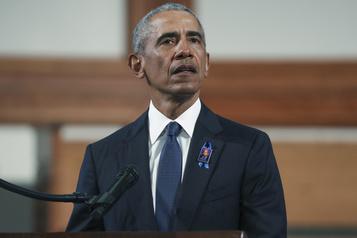 Un auditoire au volant pour le discours d'Obama mercredi)