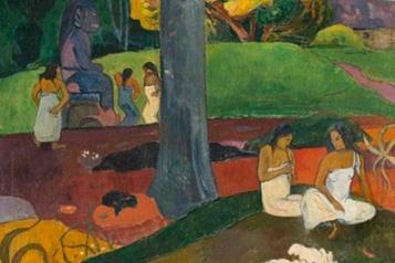 Mata Mua de Gauguin restera en Espagne)