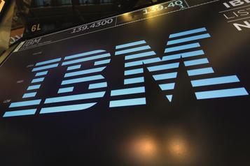 Les revenus d'IBM en baisse pour le troisième trimestre d'affilée)