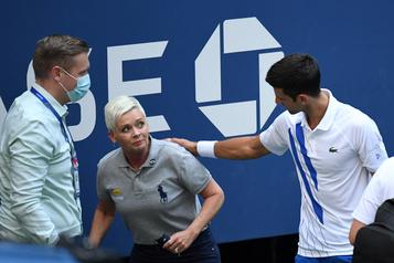 Djokovic a appris une «grande leçon» à New York)
