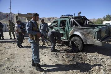 Campagne électorale en Afghanistan: deux attentats font au moins 48 morts