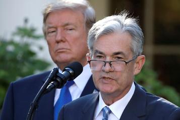 Trump attaque la Fed mais affirme ne pas «exiger» de baisser les taux