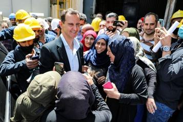 Présidentielle en Syrie: Assad et deux autres candidats en lice)