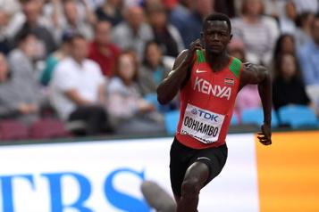 Un sprinteur kényan suspendu pour dopage)